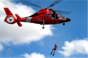 U.S. Coast Guard HH-65C Dolphin Search And Rescue Demonstration