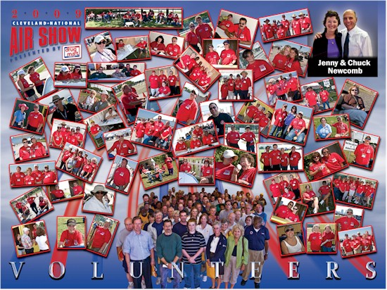 Airshow Volunteer Collage