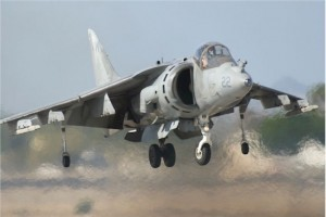 U.S. Marine Corps Harrier Tactical Demonstration