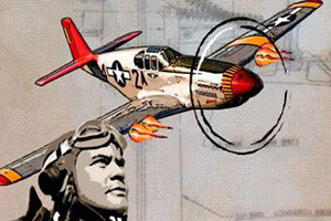 The Tuskegee Airmen Rise Above Exhibit