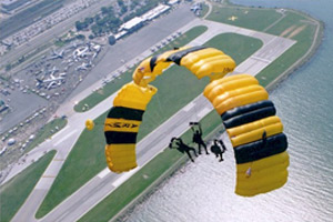 U.S. Army Golden Knights Precision Parachute Team