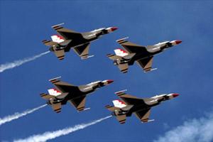 U.S. Air Force Thunderbirds Jet Demonsration Team