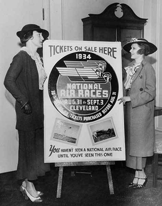 1934 Cleveland Air Race Poster