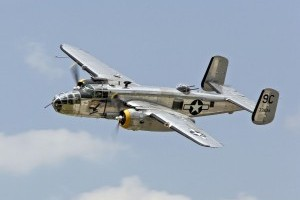 WWII B-25 Mitchell Bomber