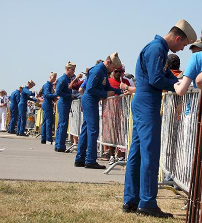 Blue Angels autographs