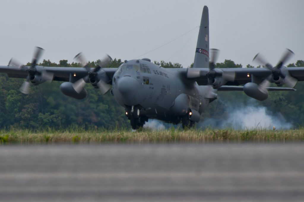 Ohio Air National Guard C-130 Hercules Demonstration