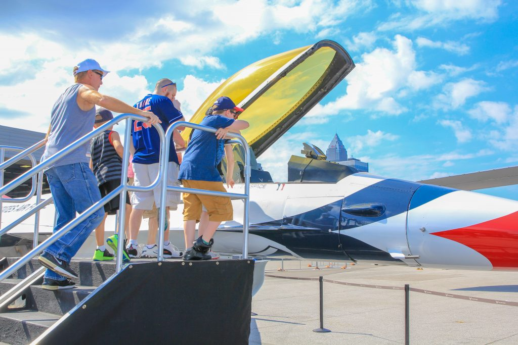 Display Aircraft | Cleveland National Air Show