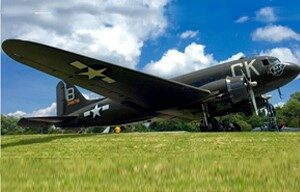 "WWII Douglas C-47B Skytrain ""Luck of the Irish"""